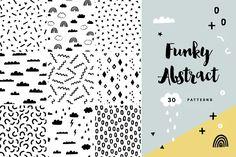 (Super Fun) Geometric Patterns | Pre-Designed Illustrator Graphics ~ Creative Market Abstract Shapes, Abstract Pattern, Geometric Shapes, Geometric Patterns, Graphic Patterns, Tile Patterns, Cool Patterns, Vector Pattern, Pattern Design