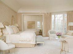 Neutral bedroom by Phoebe Howard