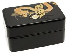 Amazon.com: Kotobuki 2-Tiered Dragon and Pearl Bento Box, Large, Black: Bento Lunch Box: Home & Kitchen