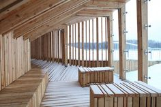 View Terrace and Pavilion / Didzis Jaunzems + Laura Laudere + Jaunromans and Abele