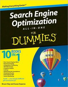 Search Engine Optimization All-in-One For Dummies by Bruce Clay and Susan Esparza  #SEO #books #Search #Engine #Optimization