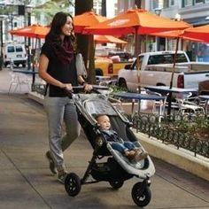 Amazon.com : Baby Jogger 2016 City Mini GT Single Stroller - Black/Black : Baby