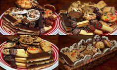 Hugs & CookiesXOXO: COOKIE PLATTERS HOLDING 9 POUNDS OF COOKIES!