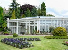 camellia houseweb Nottingham, Camellia, Conservatory, Sunroom, Amazing Gardens, Glass Houses, Mansions, Places, Sunrooms