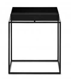 HAY / Kovový stolík Tray Table S Black