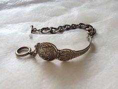 West Virginia Souvenir Spoon Bracelet by georginabaker on Etsy, $30.00