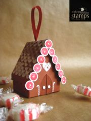 A printable template for making cute gingerbread house tree ornaments! Designed to compliment our Gingerbread Joy stamp sets, Half Baked and Oven Fresh! Gingerbread House Template, Gingerbread House Parties, Gingerbread Crafts, Christmas Gingerbread House, Gingerbread Houses, Christmas Paper Crafts, Holiday Crafts, Christmas Decorations, House Ornaments