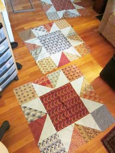 Barbara Brackman's MATERIAL CULTURE: The Largest Star Quilt Block