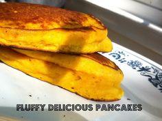 Buttermilk Pumpkin Walnut Pancakes