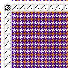 draft image: Figurierte Muster Pl. XX Nr. 12, Die färbige Gewebemusterung, Franz Donat, 7S, 7T