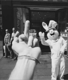 whoever did this, thankyou. that bunny was creepy as hell. standin out on the corner givin kids candy and bein creepy. Happy Easter, Easter Bunny, Easter Sale, Easter Eggs, Comme Des Freres, Pale Tumblr, Youre My Person, Weekend Fun, Soft Grunge