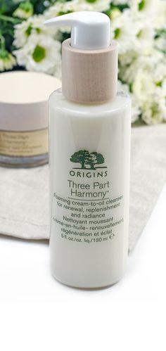 Review zur brandneuen Origins Anti Aging Serie Pflegeserie Three Part Harmony & Starting Over Eyecream