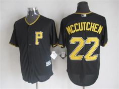 Pittsburgh Pirates #22 Andrew McCutchen Alternate Black 2015 MLB Cool Base Jersey