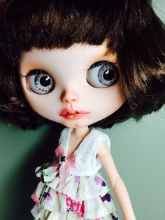 RESERVED for Bu Custom Blythe Doll OOAK named CoCo  by EmmyBlythe