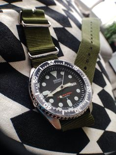 007 on a green nato