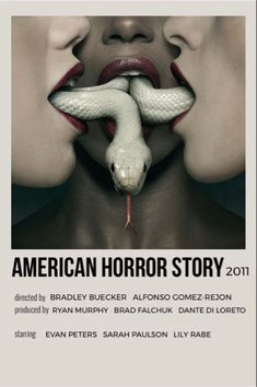 American Horror Story Funny, American Horror Story Characters, Ahs Characters, Poster Wall, Poster Prints, Iconic Movie Posters, Alternative Movie Posters, Film Poster Design, Oui Oui