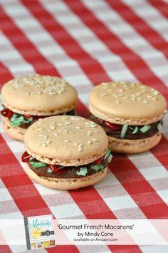 Anniversaire Burger - Macarons - Too cute