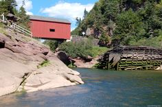 Near the Bay of Fundy New Brunswick, Covered Bridges, Travelogue, Beautiful Scenery, Nova Scotia, Places Ive Been, North America, National Parks, Mountains