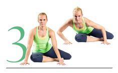 Kroppa kiittää, kun teet illalla nämä 4 venyttelyliikettä | Me Naiset Get Started, Pilates, Fitness Motivation, Exercise Motivation, Health Fitness, Workout, Sports, Stretching, Exercises