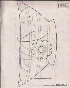 93 Applique of the month vasos de flores - maria cristina Coelho - Picasa Webalbums