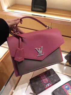 Louis Vuitton My Lockme Schoolbag M54997 Rose #m54997 #louis #vuitton #lvm54997