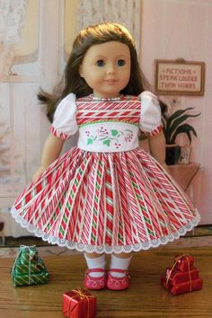 While visions of Sugarplums danced in their heads......  Made from a Robert Kaufman cotton, Willows Christmas Dress is the ultimate sweet treat! The