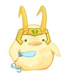 Loki by Yuushishio