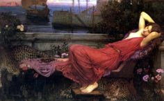 Ariadne by John William Waterhouse