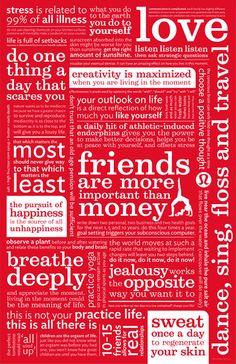 lululemon manifesto collage