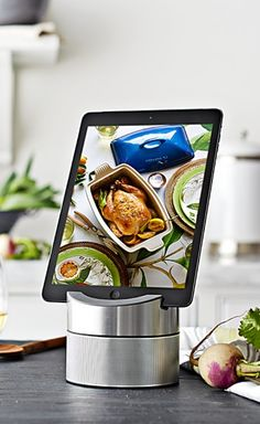 Perfect stand for your iPad while cooking