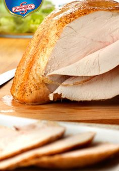 Cooking the turkey in an oven bag ensures a moist and juicy bird and very little mess to clean up. This Roasted Turkey Breast with Herbed Au Jus is a win-win turkey recipe. Thanksgiving Recipes, Holiday Recipes, Thanksgiving Turkey, Holiday Meals, Thanksgiving Traditions, Happy Thanksgiving, Turkey Recipes, Chicken Recipes, Turkey Dishes