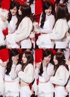 Snsd - Taeyeon & Tiffany #Taeny