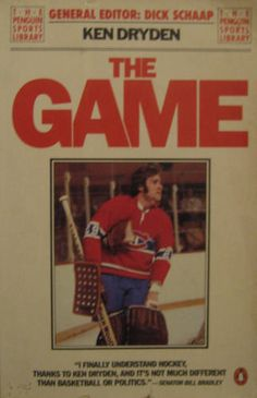 The Game (Penguin Sports Library) Ken Dryden, Penguins, Hockey, My Books, Baseball Cards, Games, Sports, Hs Sports, Field Hockey