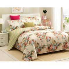 4-piece luxury cotton bedding sets Full House