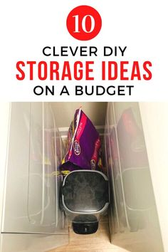 Check out these creative storage ideas for your laundry room, kitchen, bathroom , craft room and entryway. Make your clutter disappear with these smart storage hacks. #hometalk Creative Storage, Smart Storage, Storage Hacks, Diy Storage, Storage Ideas, Small Space Organization, Organization Ideas, Organizing Tips, Cleaning Tips