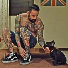 Beard, tattoos, perfect!