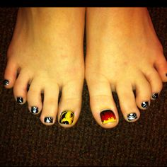 Hunger Games toes!