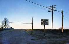 Southern Suite by William Eggleston. Dye transfer print.