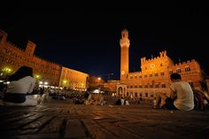 One of my most memorable times in Italy. Just sitting at the Piazza for hours and watching life happen around me - beautiful in its purity. Piazza Del Campo - Siena, Italy