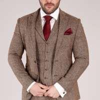 brown tweed 1 Brown Tweed Suit, Tweed Suits, Wedding Suit Hire, Fitted Suit, Suit Jacket, Breast, Slim, Fitness, Jackets