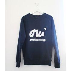 """PETERSEN Sweatshirt """"Oui"""""""