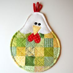 Modern Quilting Designs, Plate Mat, Potholder Patterns, Mug Rugs, Easy Gifts, Easter Ideas, Pot Holders, Owl, Crafting