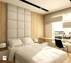 WORONICZA QBIK - Średnia sypialnia małżeńska, styl minimalistyczny - zdjęcie od design me too