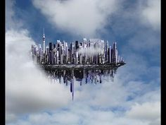 UFO Sighting Floating City Seen By Hundreds in Africa Aliens And Ufos, Ancient Aliens, Robert E Howard, Project Blue Beam, Tarot, Creepy, Pseudo Science, City Sky, City In The Sky