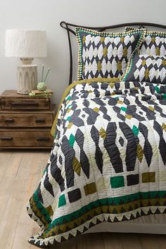 Selby Quilt - Anthropologie.com