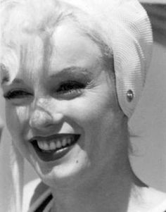 """""""Marilyn Monroe on the set of Some Like It Hot, 1958. """""""