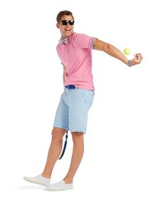 Don't just wear pink. Look good wearing pink. #IZOD
