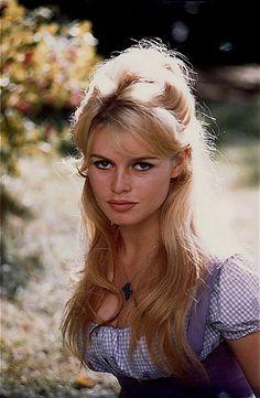 Brigitte Bardot by Henri Dauman, 1962.