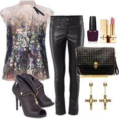 Flower Rocker! Love it all, except I'd wear black jeans.