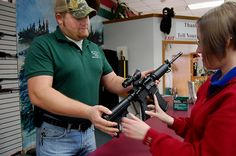 Hands on an AR-15